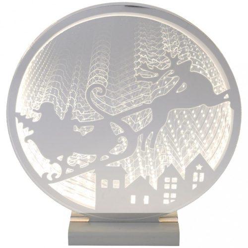Rénszarvas kör alakú, dekorációs világítás
