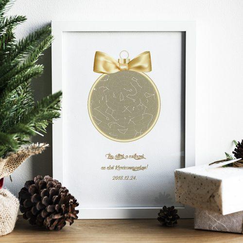 Karácsonyi csillagtérkép