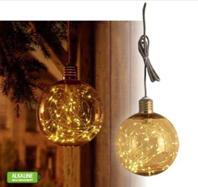 Globe170 lámpa LED szalaggal