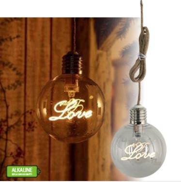 Globe130 lámpa LOVE