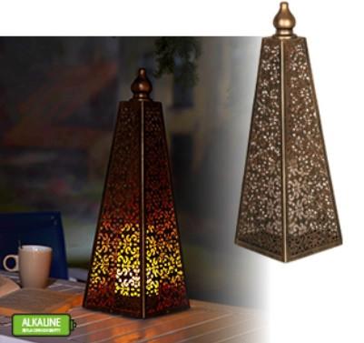 Marokkói piramis lámpa 45cm