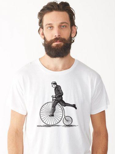 Biciklis férfi póló 3
