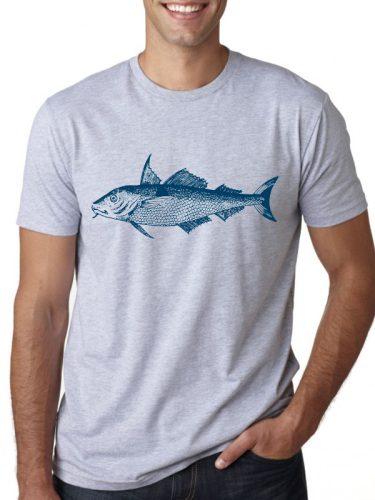Férfi póló horgászoknak 2