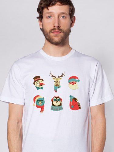 Férfi póló mikulásra 2