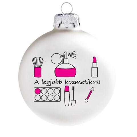 Legjobb ajándék a legjobb kozmetikusnak, 8 cm-es. Rendelje akár névre szólóan!