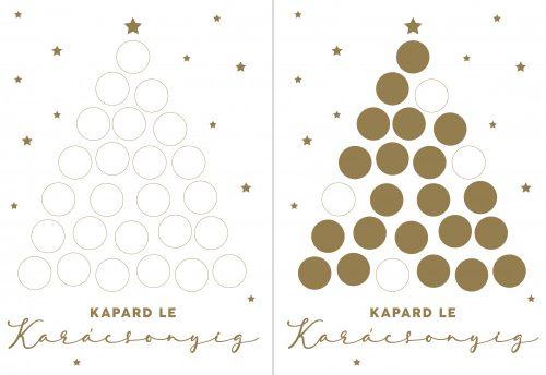 Kapard le karácsonyig! - Adventi naptár