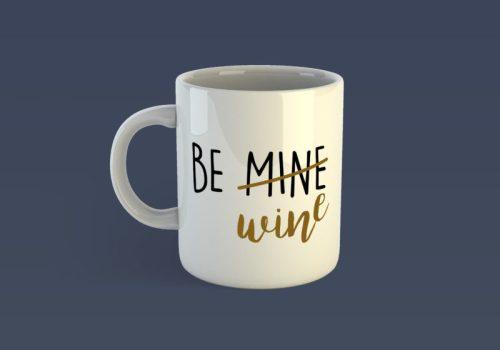Be wine szerelmes bögre