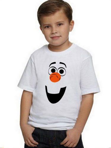 Farsangi póló Olaf