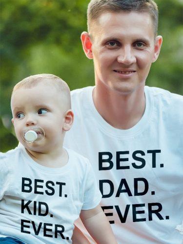 Apa-fia, apa-lánya szett - best dad ever