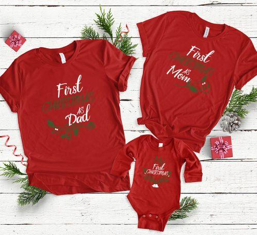 Első karácsonyunk családként