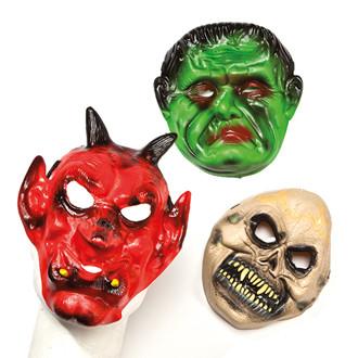 Halloween maszk, 3 féle