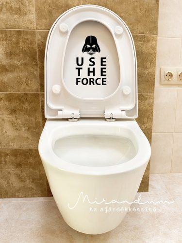 Use the force matrica - fürdőbe