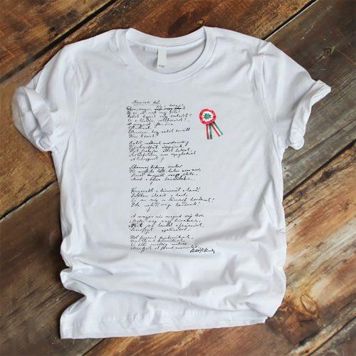 Kokárdás póló március 15-re