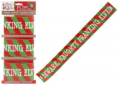 Nyomtatott szalag Elf designnal