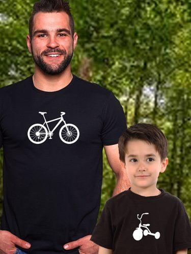 Apa-fia szett - biciklis