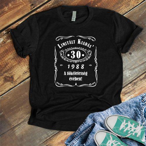 Születésnapi póló női - limitált kiadás