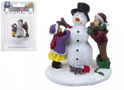Magical dekoráció hóember építők