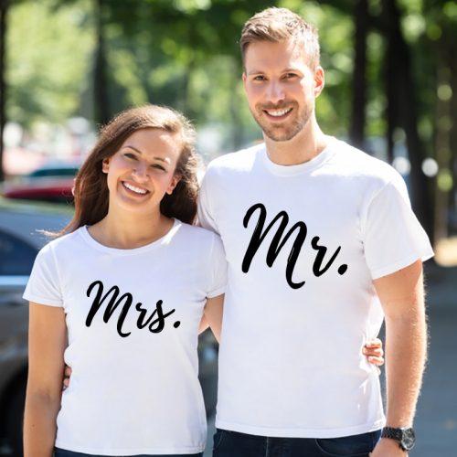 Páros póló Mr. és Mrs.