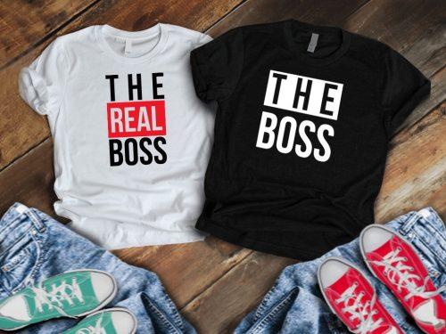 Páros póló The (real) boss