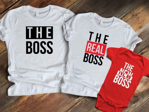 Családi szett - The boss, real boss, new boss