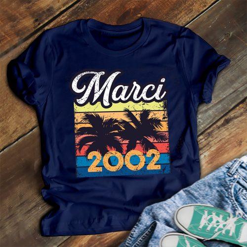 Születésnapi póló - névvel, születési évvel!