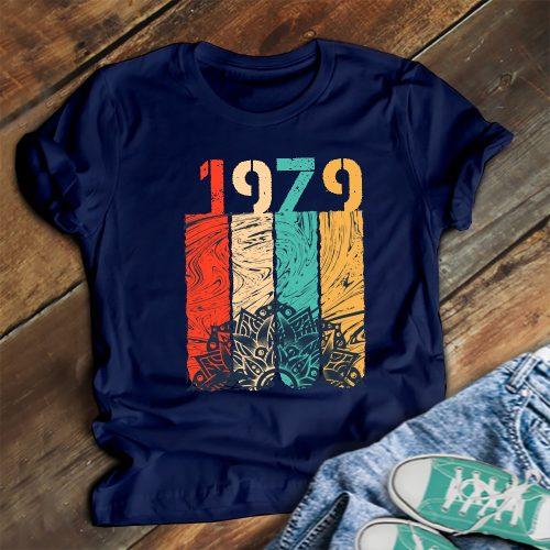 Születésnapi póló - színes - dátummal!