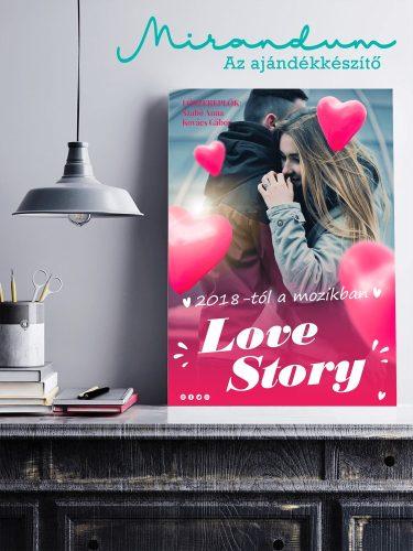 Filmplakát - love story