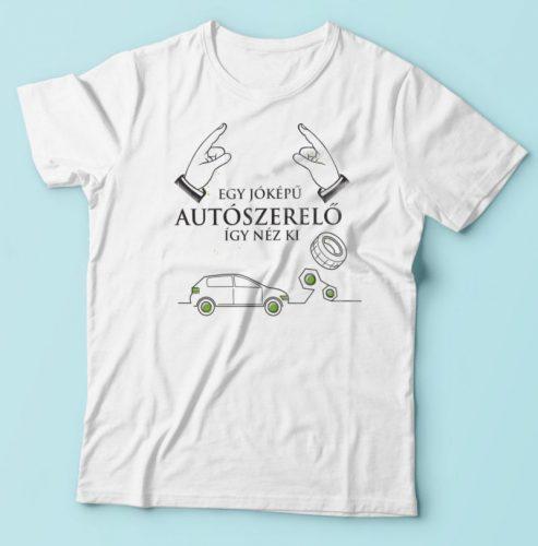 Autószerelő póló