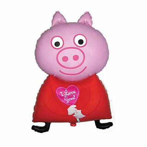 """Fólia lufi, Piggy, 24"""""""