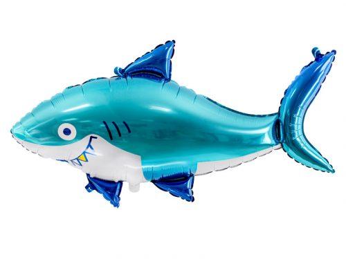 Cápa, fólia léggömb, 102x62 cm