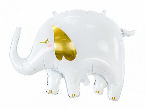 Fólia léggömb, elefánt, 83x58 cm