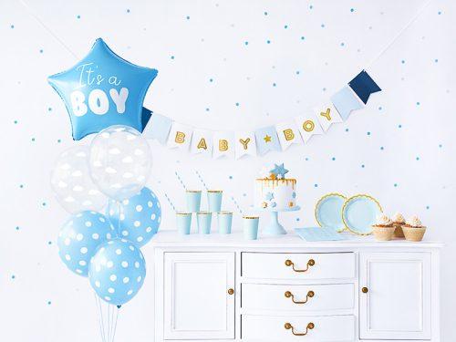 Party dekorációs készlet - It's a boy