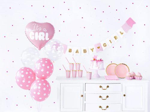 Party dekorációs készlet - It's a girl
