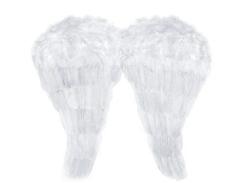 Angyalszárnyak, fehér, 52x45 cm