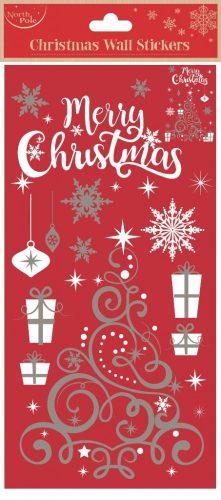 Karácsonyi falmatrica, karácsonyfa