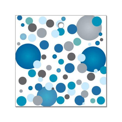 Kék pasztelll Konfettis Környezetbarát Léggömbsúly - 16 gr. (10 db/csomag)
