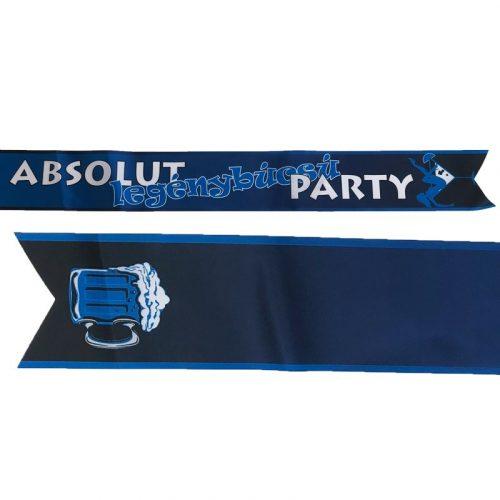 Absolut Feliratú Legénybúcsú Party Vállszalag